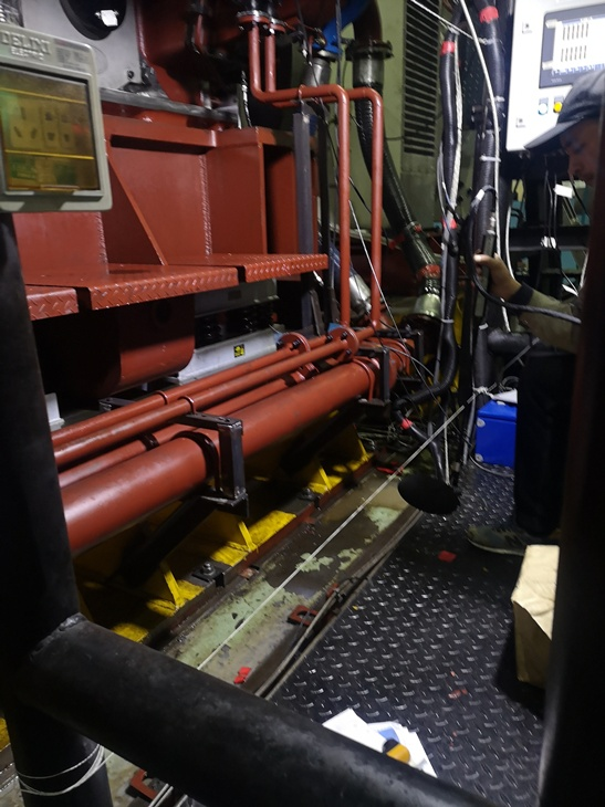 声强法测试柴油机声功率